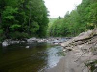 Headwaters stream