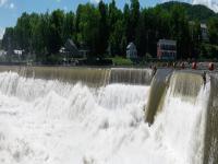 Deerfield River Shelburne Falls dam 6-14-13