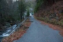 Black Brook road damage