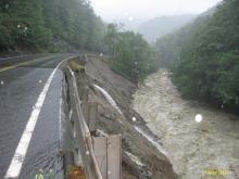 Cold River Route 2 Irene