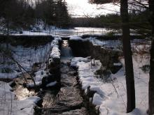Hallockville Pond, King Brook