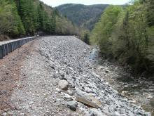 Route 2 Cold River upper watershed. Repaired